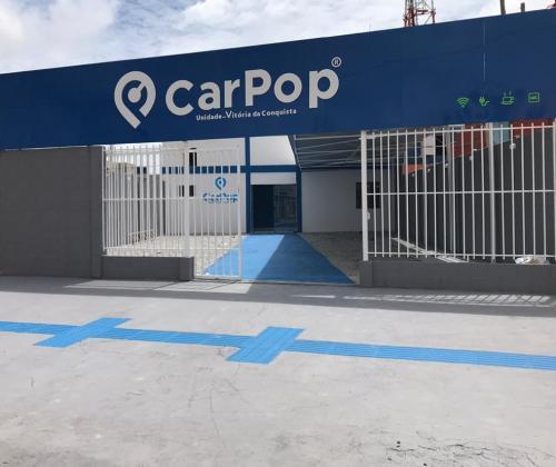 Fachada Espaço CarPop - Vitória da Conquista-BA
